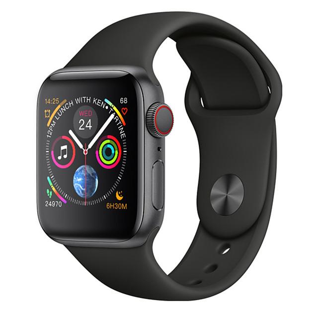 W54 Мужчины Смарт Часы Android iOS Bluetooth Водонепроницаемый Сенсорный экран Пульсомер Измерение кровяного давления Спорт / Израсходовано калорий / Длительное время ожидания / Педометр