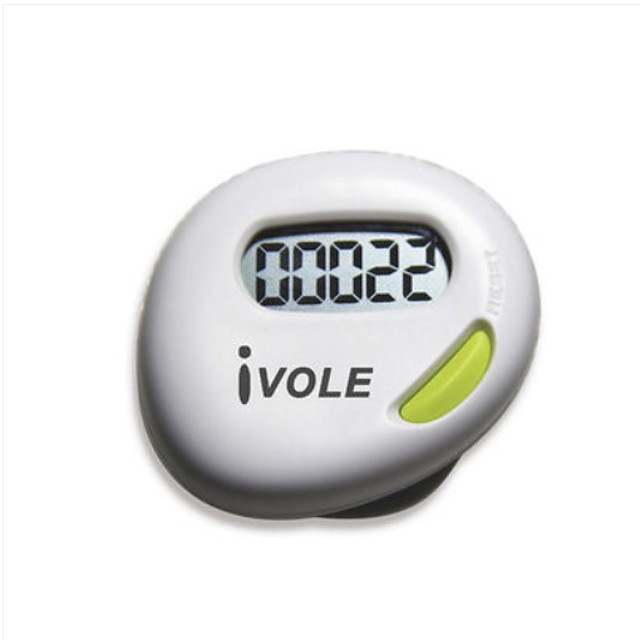 P-003 Electronic Pedometer Outdoor / Ultra Light (UL) / Youth Gravity Sensor Neoprene / Mixed Material Pure White