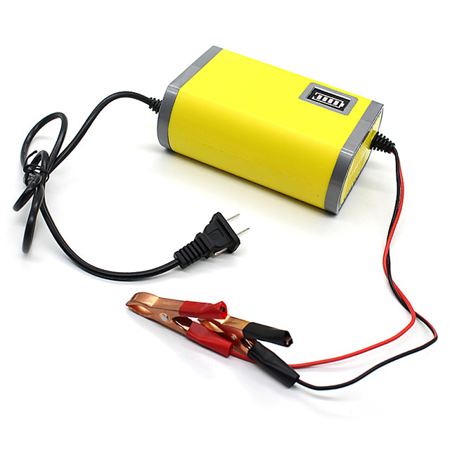 12V 6A Portable Smart Car Charger Car Battery Charger Adapter Power Supply