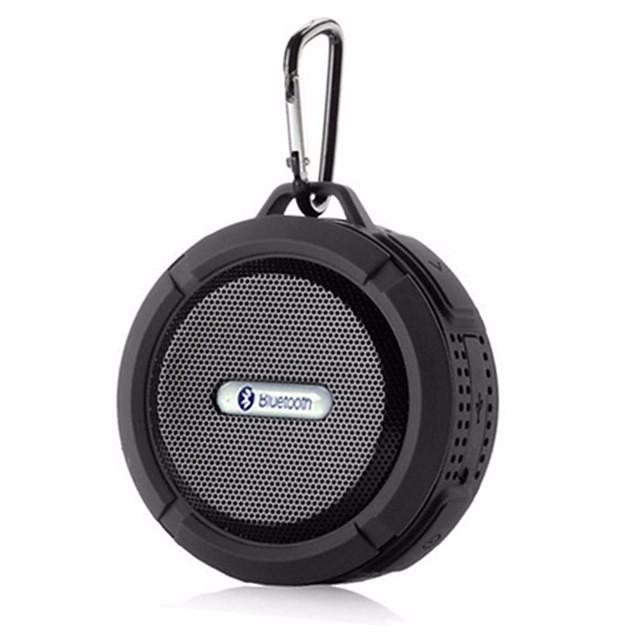 C6 Outdoor Wireless Bluetooth 4.1 Stereo Portable Speaker Built-in Mic Shock Resistance IPX4 Waterproof Louderspeaker