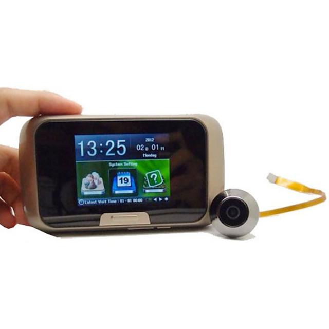 2.8-inch mobile intelligent visual electronic cat eye photo recording low power multi-language