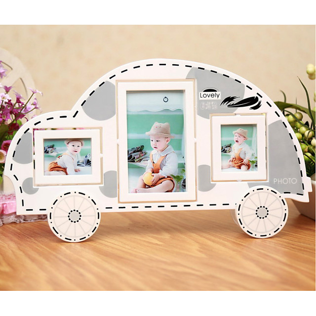 Modern Contemporary Glasses / PVC(PolyVinyl Chloride) Mirror Polished Picture Frames Wall Decorations, 2pcs Picture Frames