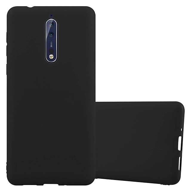 Case For Nokia Nokia 8 / Nokia 8 Sirocco Dustproof Back Cover Solid Colored Soft TPU