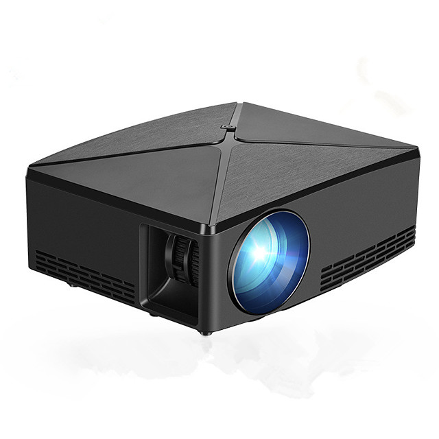 KOOOU® C80 LCD Projector 2200 Lumens 1280x720 Resolution HD VGA USB Office LED Projector Home Theater