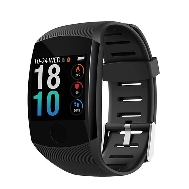 Q11 Smart Watch Waterproof Fitness Bracelet Big Touch Screen OLED Message Heart Rate Time Smartband Activity Tracker Wristband