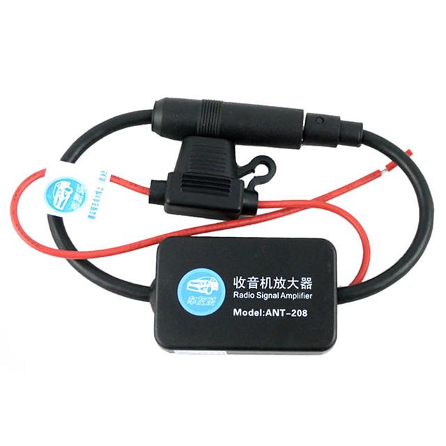Car Radio Enhanced Antenna Am/Fm Car Stereo Radio Amplifying Antenna Booster Assembly