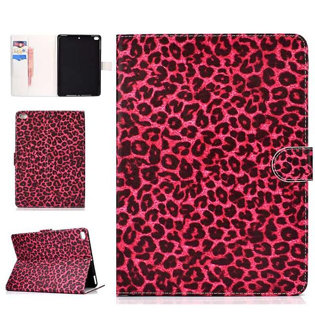 Case For Apple iPad Air / iPad Mini 3/2/1 / iPad Mini 4 Wallet / Card Holder / Shockproof Full Body Cases Tile Hard PU Leather / iPad (2017)