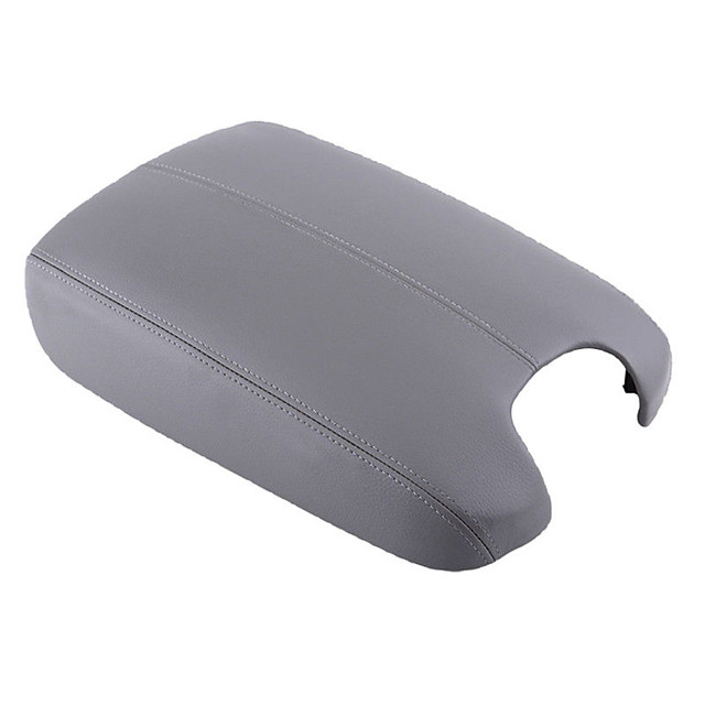 Armrest Center Console Lid Cover Leather Synthetic for 08-12 Honda Accord