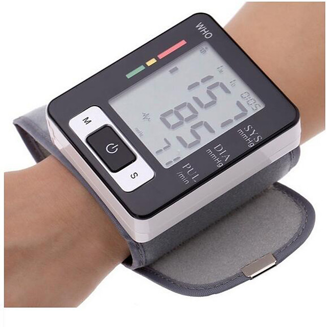 Home Intelligent Electronic Wrist Blood Pressure Monitor Automatic Home With / Without Voice Blood Meter Blood Pressure Meter Tensiometer