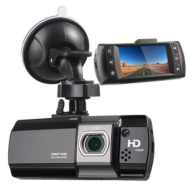 AT550 1080p Nytt Design / HD / Oppstart automatisk opptak Bil DVR 170 grader Bred vinkel 2.7 tommers LCD Dash Cam med Night Vision / G-Sensor / Bevegelsessensor Bilopptaker / Loop-cycle Recording