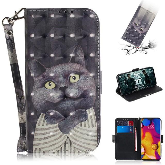 Case For LG LG V40 / LG Stylo 5 / LG G8 Wallet / Card Holder / Shockproof Full Body Cases PU Leather