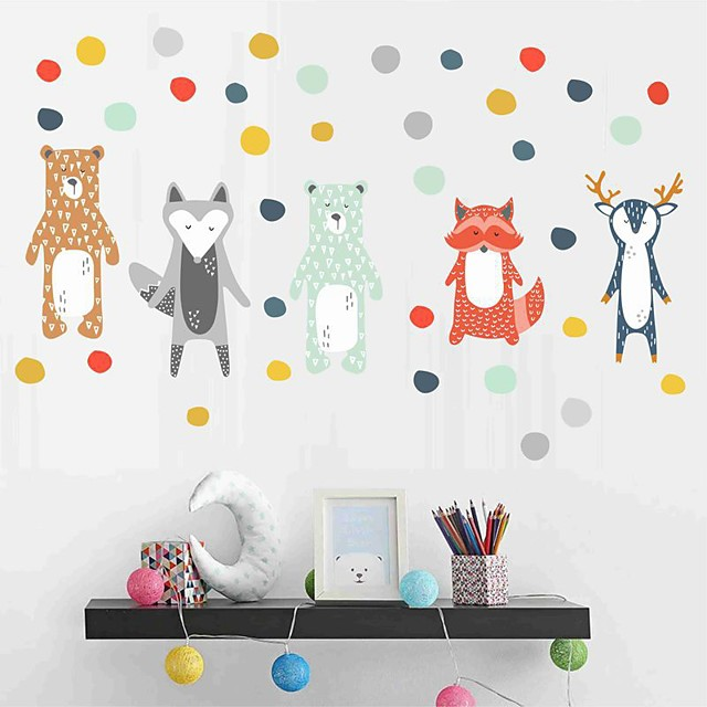 Decorative Wall Stickers - Plane Wall Stickers Animals Nursery / Kids Room