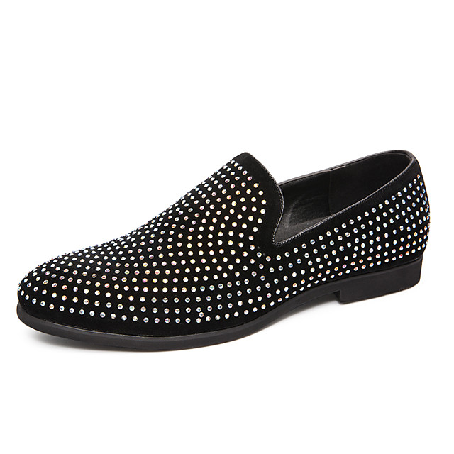 Men's Formal Shoes PU Spring & Summer / Fall & Winter Casual / British Loafers & Slip-Ons Black / Party & Evening / Party & Evening / Office & Career / Dress Shoes