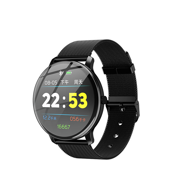 Kimlink R88 Men Women Smartwatch Android iOS Bluetooth Waterproof Touch Screen Heart Rate Monitor Blood Pressure Measurement Sports Pedometer Call Reminder Activity Tracker Sleep Tracker Sedentary