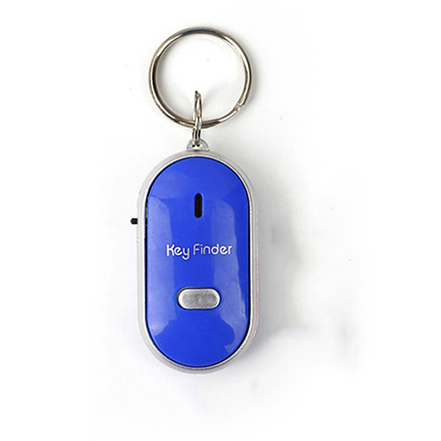 Mini Whistle Anti Lost Key Finder Wireless Smart Flashing Beeping Remote Lost Keyfinder Locator with LED Torch