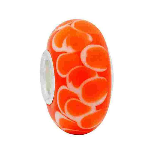 Creative Beads DIY Jewelry - Jewelry Orange Bracelet Necklace