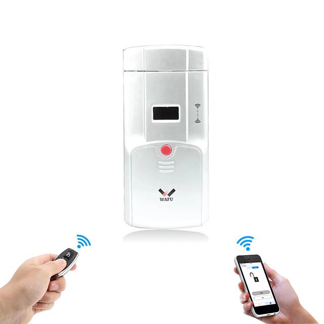 WAFU Smart Home Remote Control Door Lock Mobile Phone Control Smart  Invisible Bluetooth Door Lock iOS/Android(WF-011U)