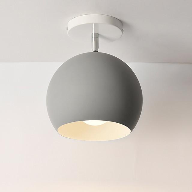 1-Light 15 cm Mini Style Lovely Flush Mount Lights Metal Globe Mini Painted Finishes Contemporary Artistic 110-120V 220-240V FCC E26 E27