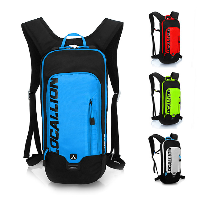 10 L Bike Hydration Pack & Water Bladder Cycling Backpack Large Capacity Waterproof Lightweight Bike Bag Polyester Nylon Bicycle Bag Cycle Bag Hiking Bike / Bicycle Travel