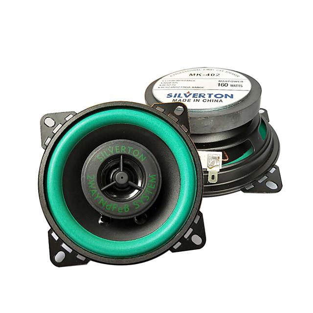 1pcs mk402 Car Audio Speakers Car HiFi Coaxial Speaker Car Audio 5.1 Vehicle Door Auto Audio Music Stereo universal Vehicle loudspeaker modification 4 inch coaxial horn