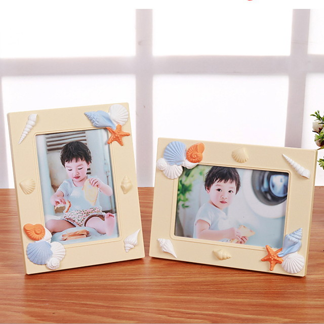 Modern Contemporary Glasses / PVC(PolyVinyl Chloride) Mirror Polished Picture Frames Wall Decorations, 1pc Picture Frames