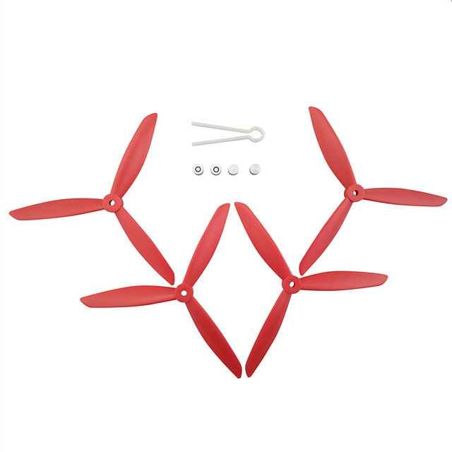 MJX Bugs 3 PRO B3 PRO Holy Stone HS700 4pcs Propellers RC Quadcopters RC Quadcopters ABS+PC Low Noise / Easy to Install / Durable