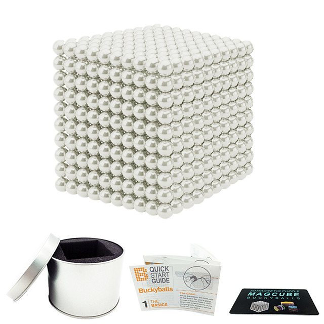 216-1000 pcs 3mm Magnet Toy Magnetic Balls Magnet Toy Building Blocks Super Strong Rare-Earth Magnets Neodymium Magnet Magnetic Stress and Anxiety Relief Office Desk Toys Relieves ADD, ADHD, Anxiety