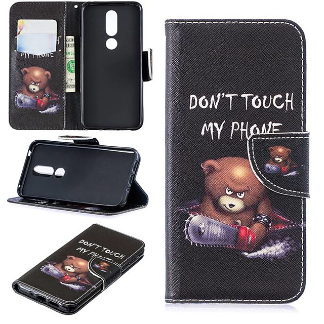 Case For Nokia 4.2/Nokia 3.2 Magnetic / Flip / with Stand Full Body Cases Word / Phrase Hard PU Leather for Nokia 1 Plus/Nokia 2/Nokia 2.1/Nokia 3.1/Nokia 5.1/Nokia 7.1/Nokia 8/Nokia 6