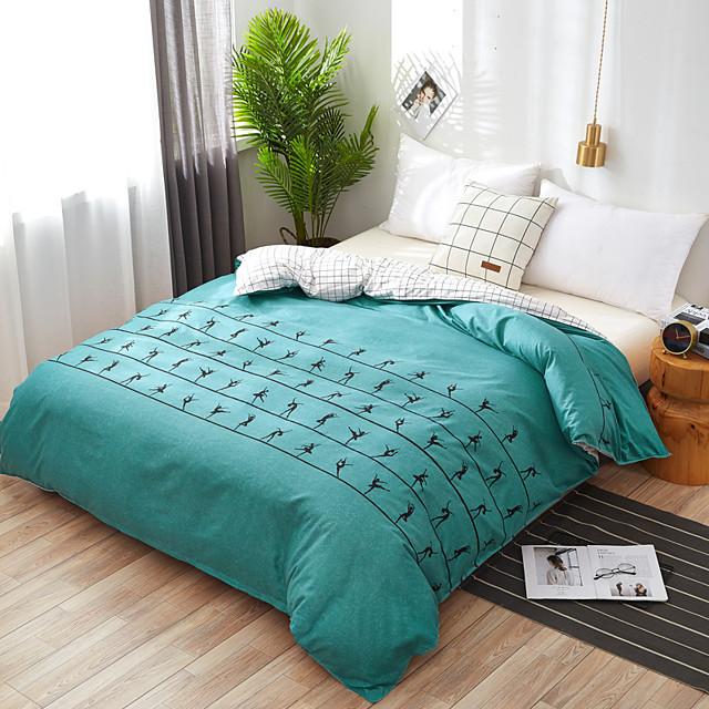 Fashion Simple Style home bedding sets bed linen duvet cover flat sheet Bedding Set Winter Full King Single Queenbed set 2020