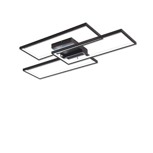 3-Light 59 cm LED Flush Mount Lights Metal Linear Painted Finishes Contemporary / LED 110-120V / 220-240V