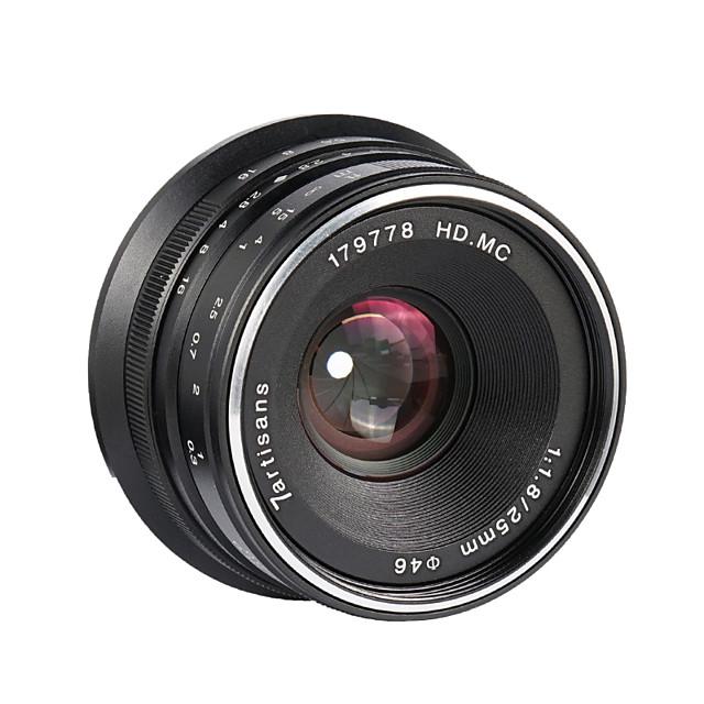 7Artisans Camera Lens 7Artisnas25mmF1.8EOSMforCamera