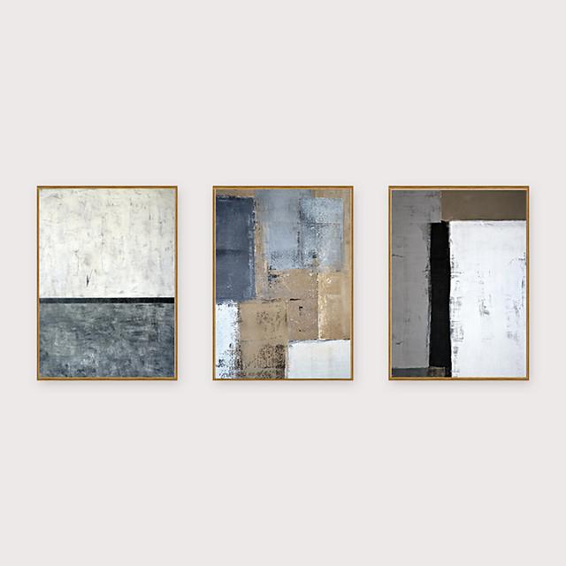 Framed Art Print Framed Set - Abstract PS Oil Painting Wall Art