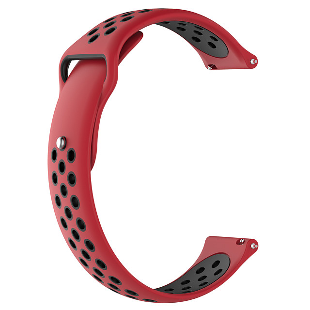 Watch Band for Huami Amazfit Bip Younth Watch / Amazfit GTR 42mm Amazfit Modern Buckle Silicone Wrist Strap