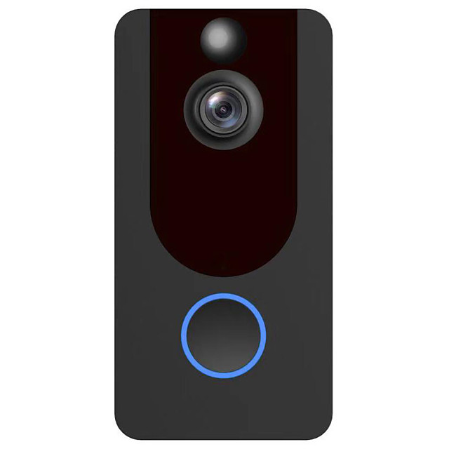 Factory OEM V7 HD Wireless Remote Doorbell No Screen(output by APP) Handheld One to One Video Day / Night Vision Smart Video Home Security Visual Recording Doorphone