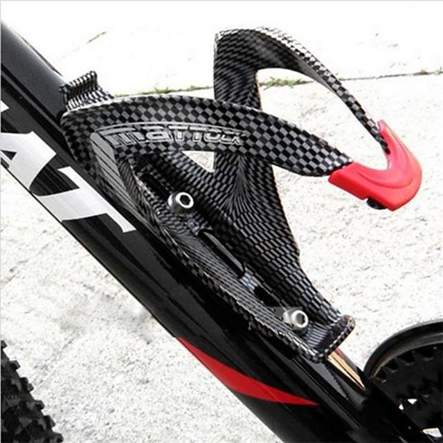 Bike Water Bottle Cage Carbon Fiber For Cycling Bicycle Carbon Fiber Black 1 pcs