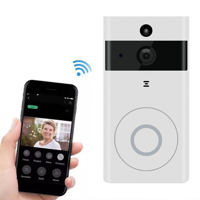 Building Video Surveillance Voice Intercom Wireless Smart Home Wifi Mobile App Software Remote Intelligent Doorbell