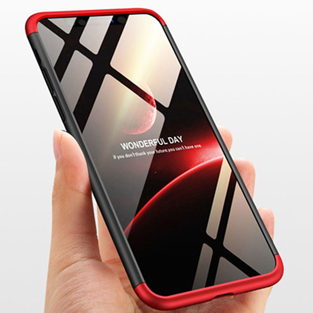 Case For Apple iPhone XS / iPhone XR / iPhone XS Max/6/7/8/6S/6S Plus/6 Plus/7Plus/8Plus Shockproof / Frosted Back Cover Solid Colored PC
