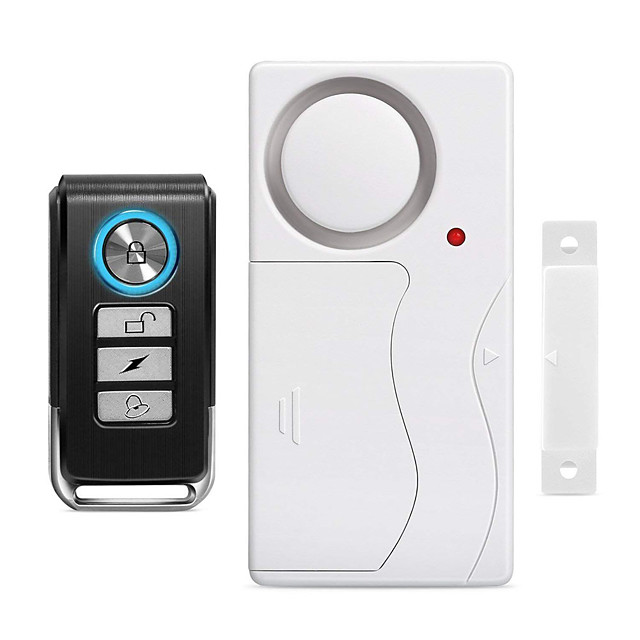 Wireless Anti-Theft Remote Control Door and Window Security Alarms Home Security Systems