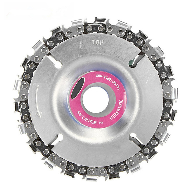 4 inches silver color grinder disc tooth fine chain saw for woodworking