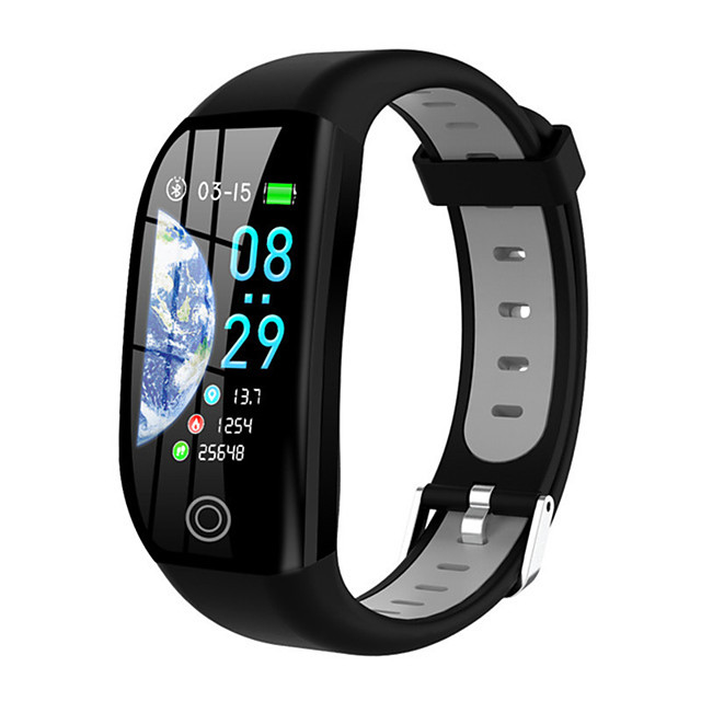 F21 Smart Wristband Bluetooth Fitness Tracker Support Notify/ Blood Pressure Measurement Built-in GPS Waterproof Smart Watch for Samsung/ Iphone/ Android Phones