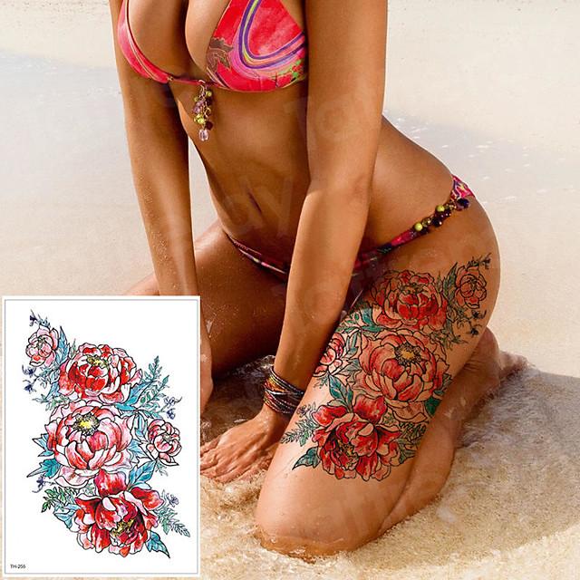 LITBest 3 pcs Temporary Tattoos Classic brachium / Shoulder / Leg Paper Tattoo Stickers