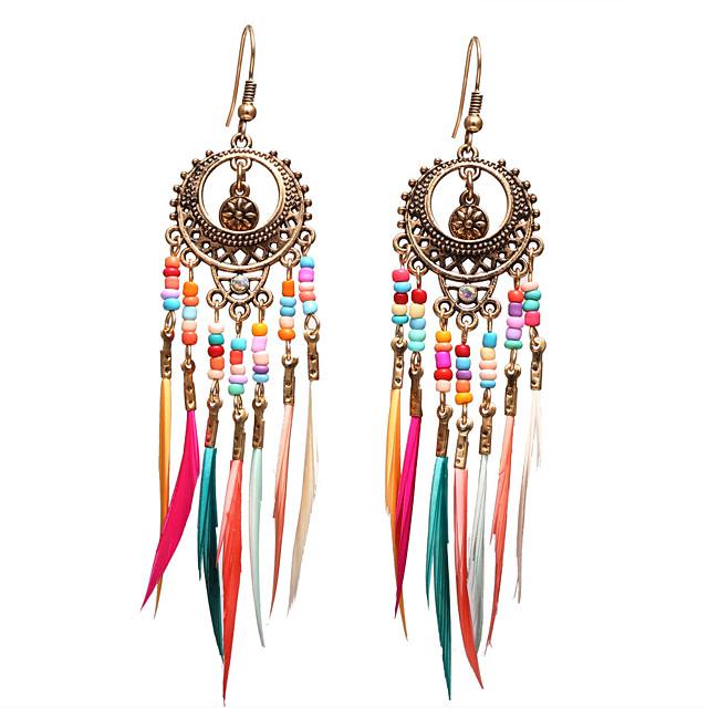 Vintage Folk Tribe Girls Earring Drop Dangle Stud Ethnic Festival Party Jewelry