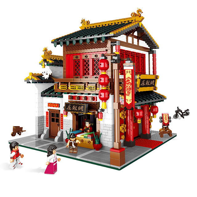 Building Blocks 1 pcs Chinese Architecture compatible ABS+PC Legoing Simulation All Toy Gift / Kids