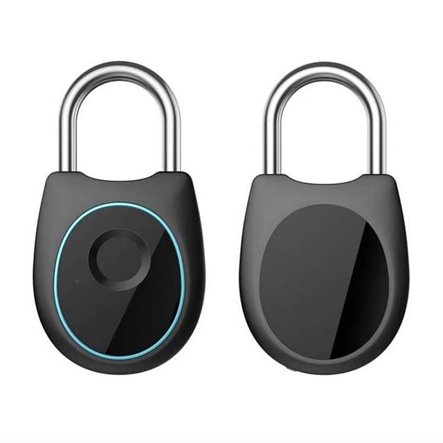 Mlmk Luggage Lock Electronic Intelligent Fingerprint Fingerprint Drawer Lock Kit Lock Fingerprint Padlock
