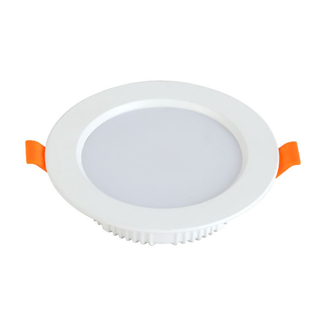 1 set 7 W 560 lm 72 LED Beads Recessed LED Recessed Lights Natural White White 85-265 V Commercial Home / Office Living Room / Dining Room / 90