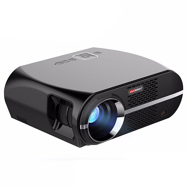 vivibright GP100 LCD LED Projector 3500 lm Support 1080P (1920x1080) 28~280 inch