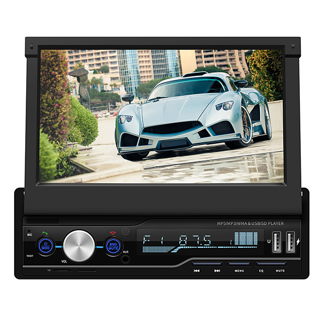 t100 7 inch Windows CE Car MP4 Player Touch Screen / MP3 / Built-in Bluetooth for universal Support AVI / RM / RMVB MP3 / WMA / WAV