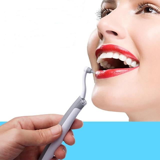 sähköinen äänihampaiden tahranpoisto plakkien poistoaineella värähtelevät hampaat kauneudenhoitotyökalusarja pic valkaisu hampaan puhdistusjärjestelmä