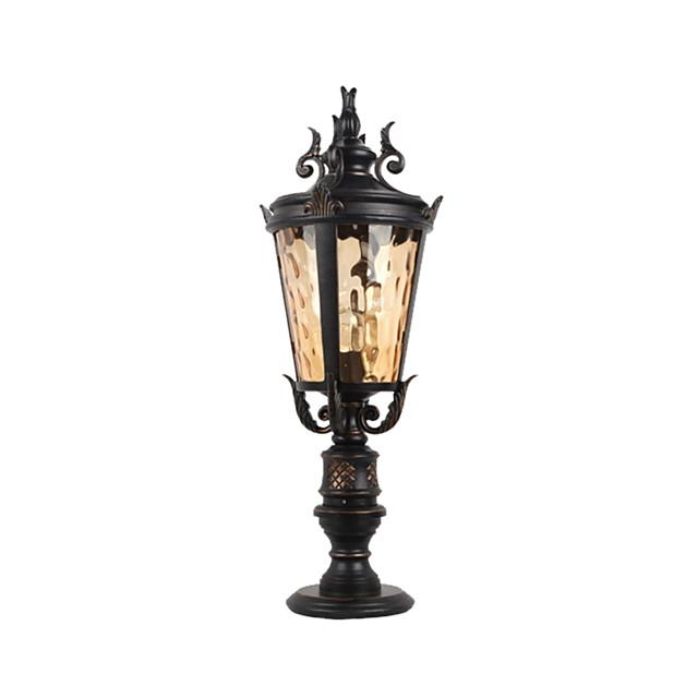 lampă de peluză antichitate design luminos de peisaj la sol led stradal iluminat exterior impermeabil / curte / grădină
