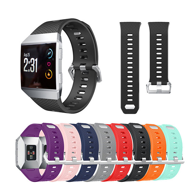 Watch Band For Fitbit ionic Fitbit Sport Band / Classic Buckle Silicone Wrist Strap